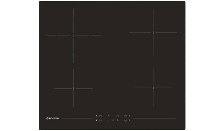 Hoover H-HOB 500 HH64DCT Touch Control Ceramic Hob - Black
