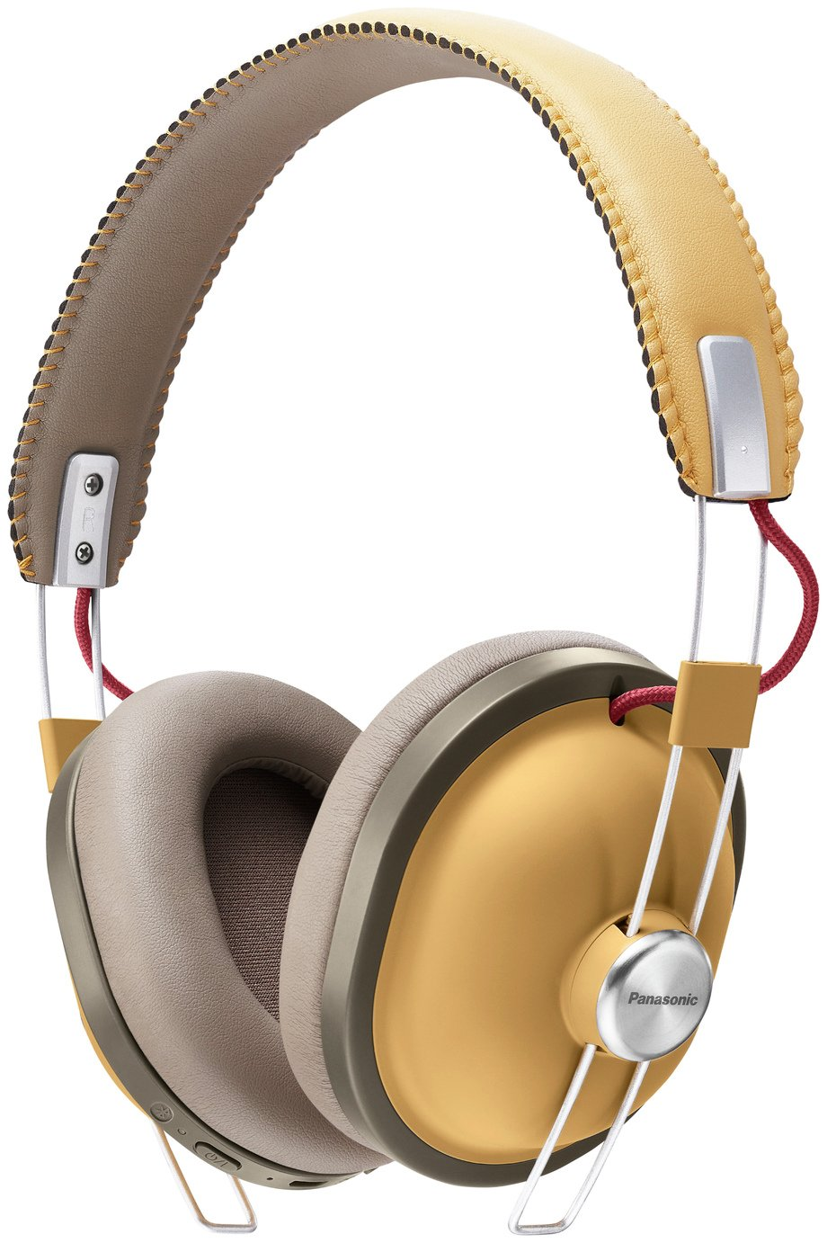 Panasonic RP-HTX80BE Wireless Over-Ear Headphones - Tan