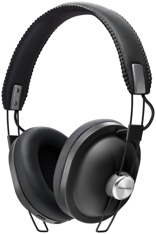 Panasonic RP-HTX80BE Wireless Over-Ear Headphones - Black
