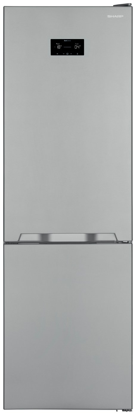 Sharp SJ-BA31IHXI2 Fridge Freezer - Stainless Steel