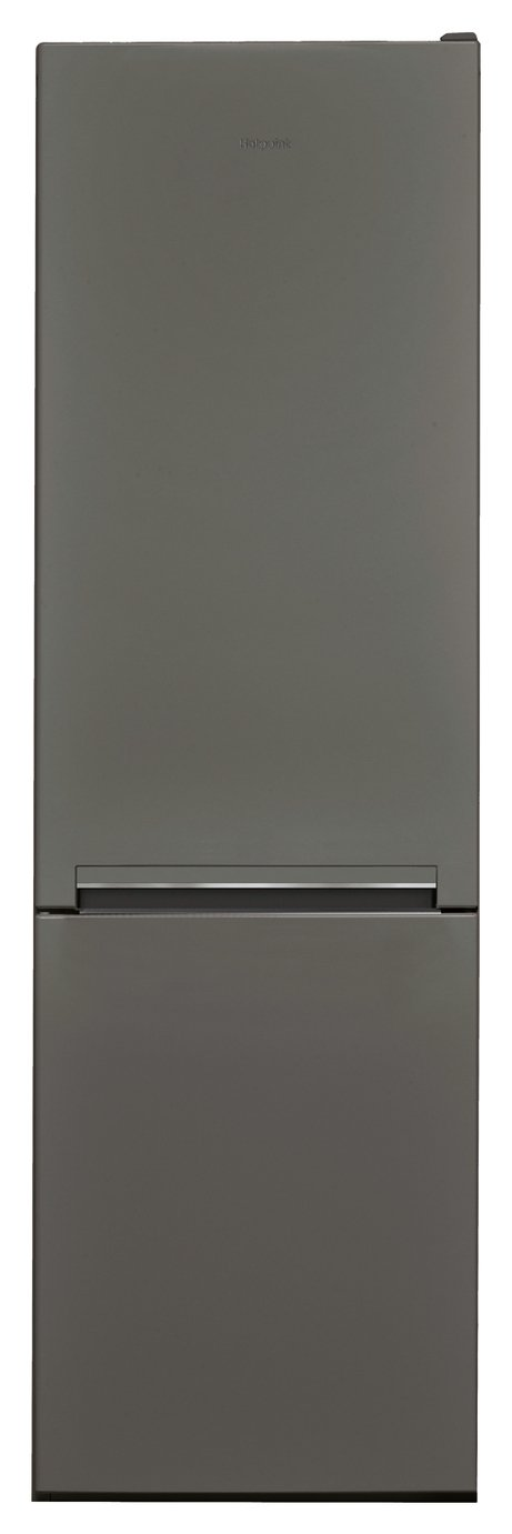 Hotpoint H8A1ESBUK Low Frost Fridge Freezer - Gun Metal