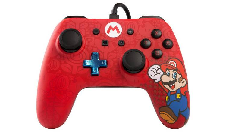 PowerA Nintendo Switch Wired Controller - Mario Design