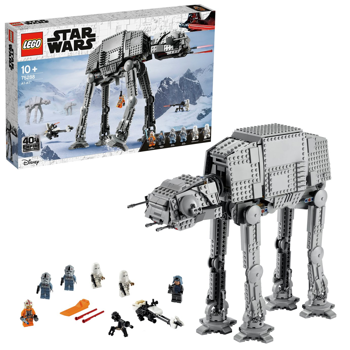 LEGO Star Wars AT-AT Walker Building Set- 75288