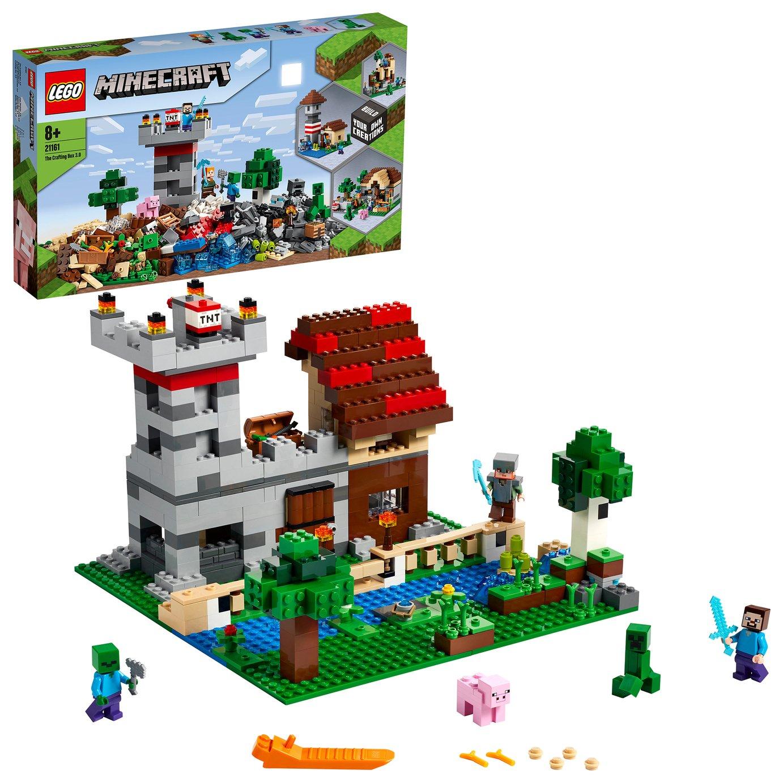 LEGO Minecraft The Crafting Box 3.0 Fortress Farm Set- 21161