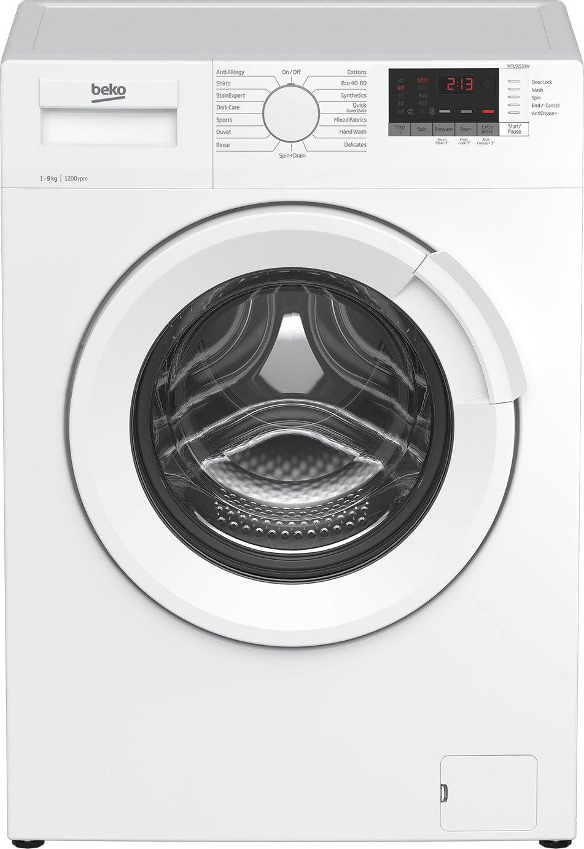 Beko WTL92151W 9KG 1200 Spin Washing Machine - White