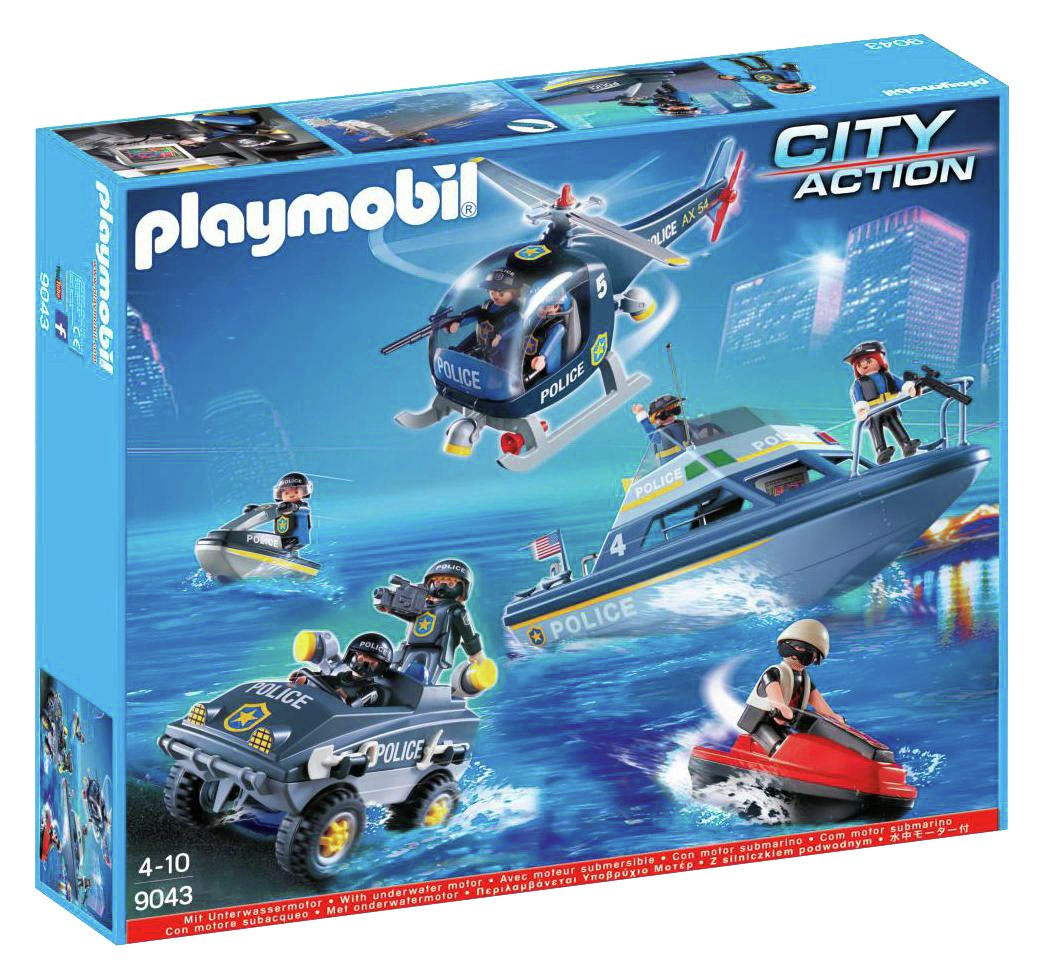 Playmobil 9043 Police Mega Set