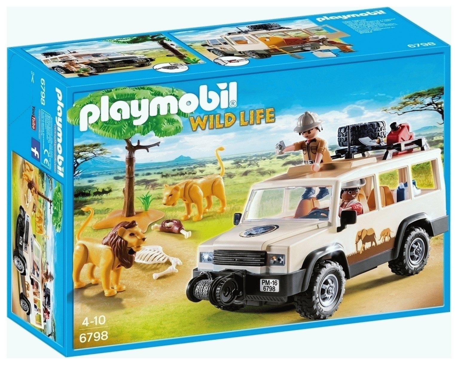 Playmobil 6798 Wild Life Safari Truck