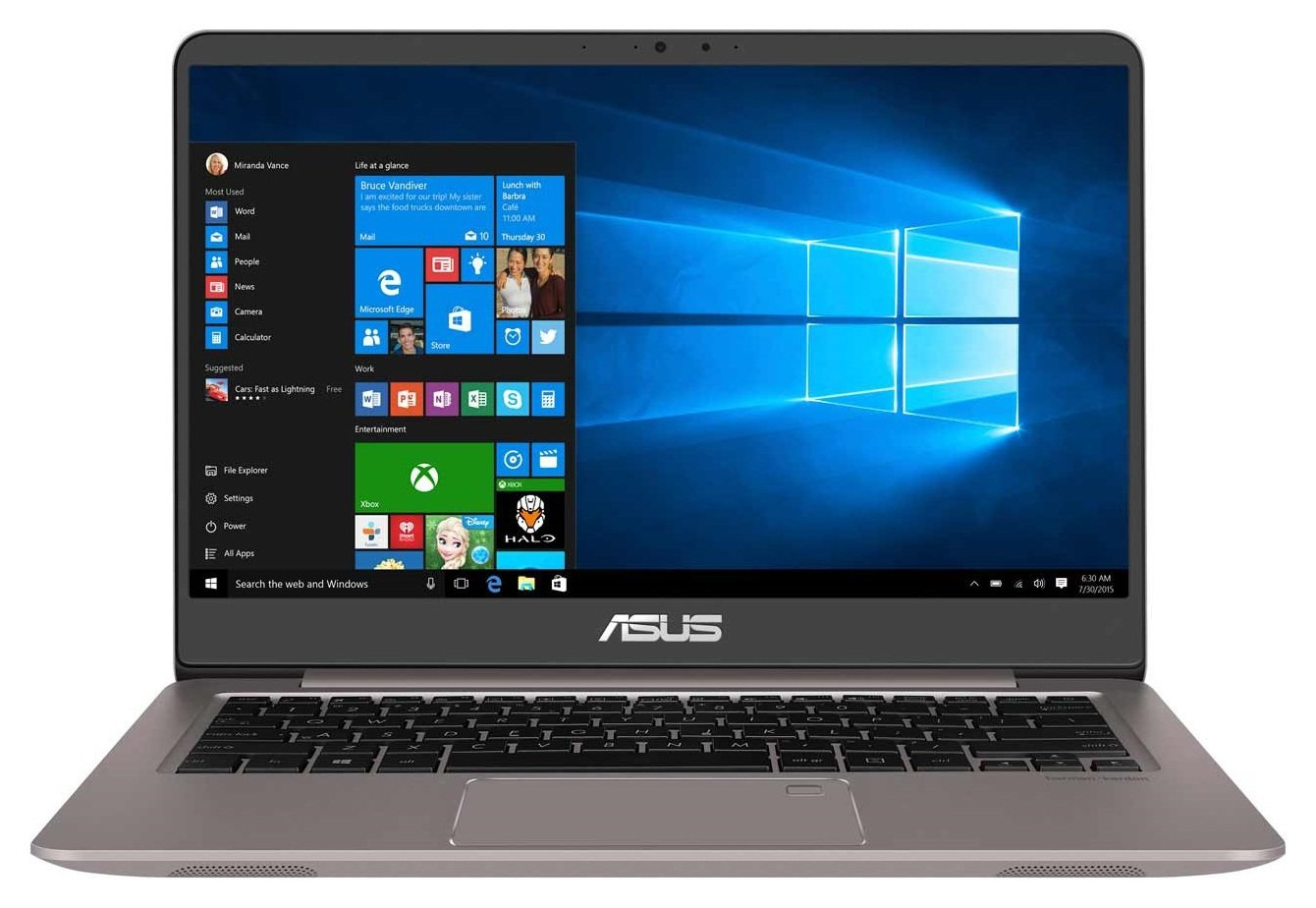 Asus Asus ZenBook UX410 14 Inch i5 8GB 256GB Laptop - Silver