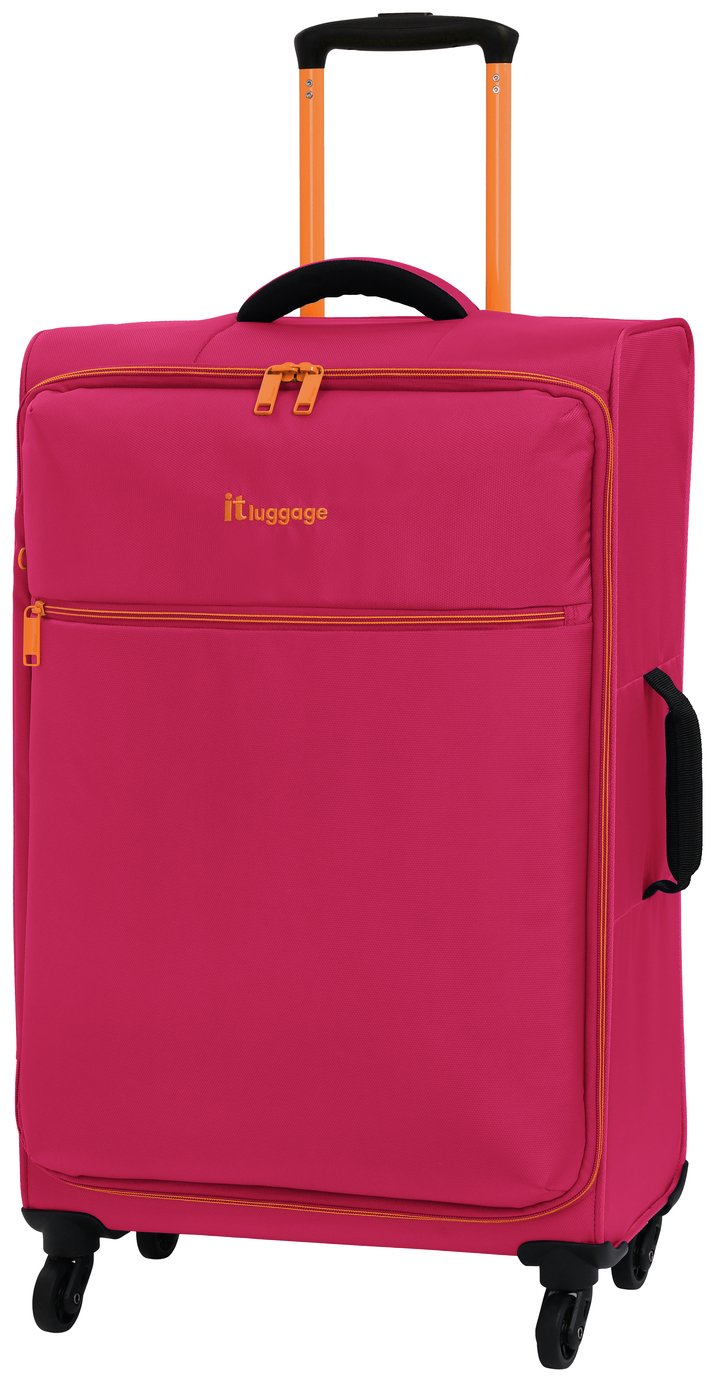 it Luggage The LITE Medium 4 Wheel Soft Suitcase - Pink