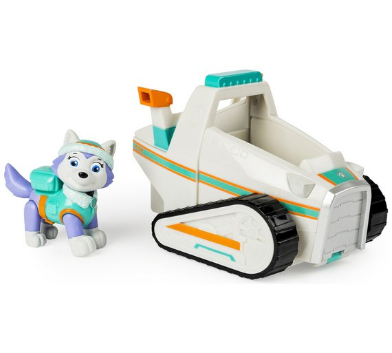 Buy PAW Patrol Everests Snowmobile Pup Vehicle