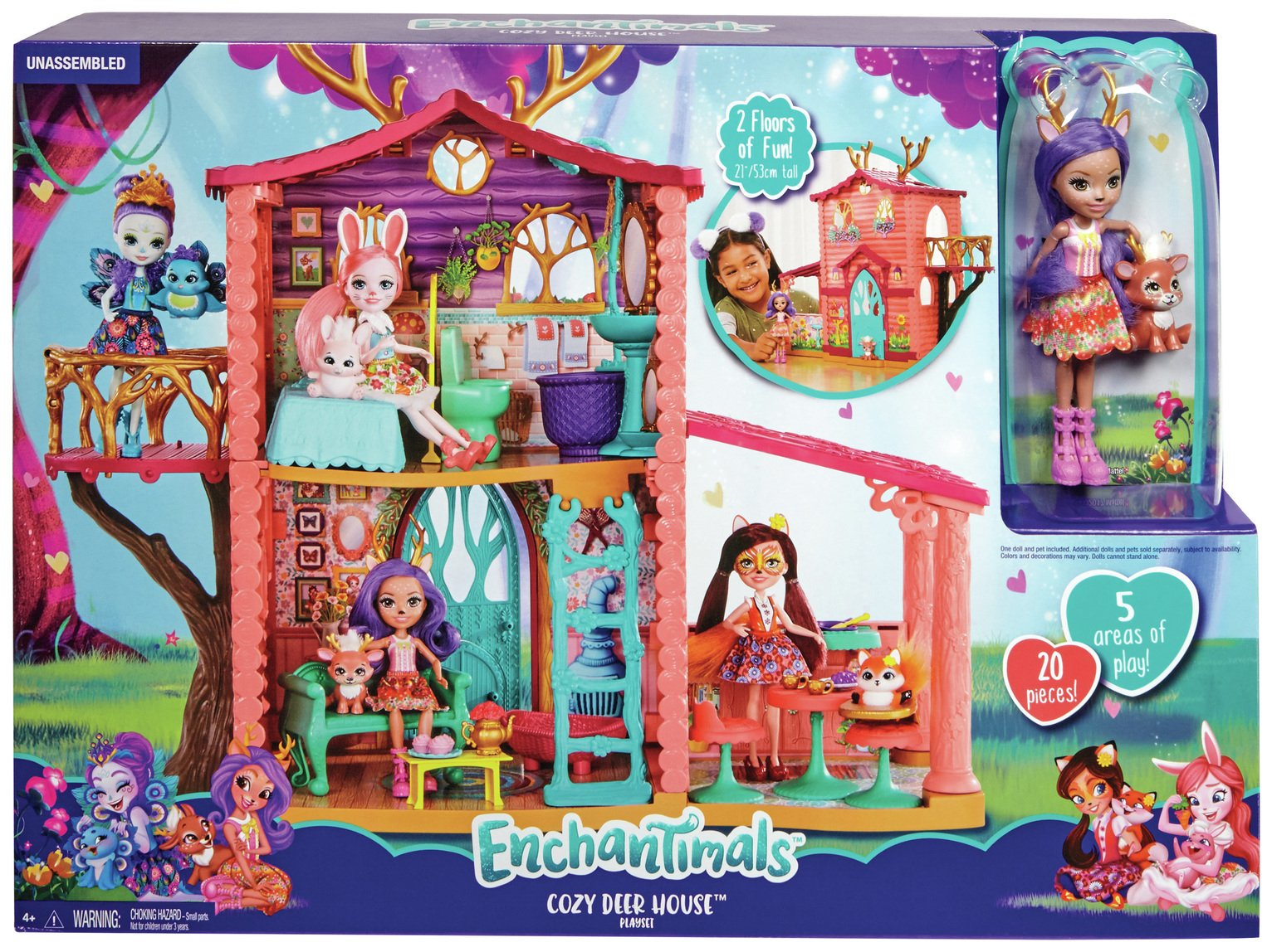 Enchantimals Cozy Deer House
