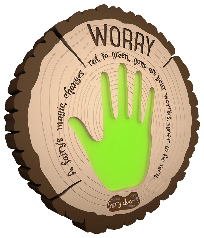 The Irish Fairy Door Company Interactive Worry Plaque