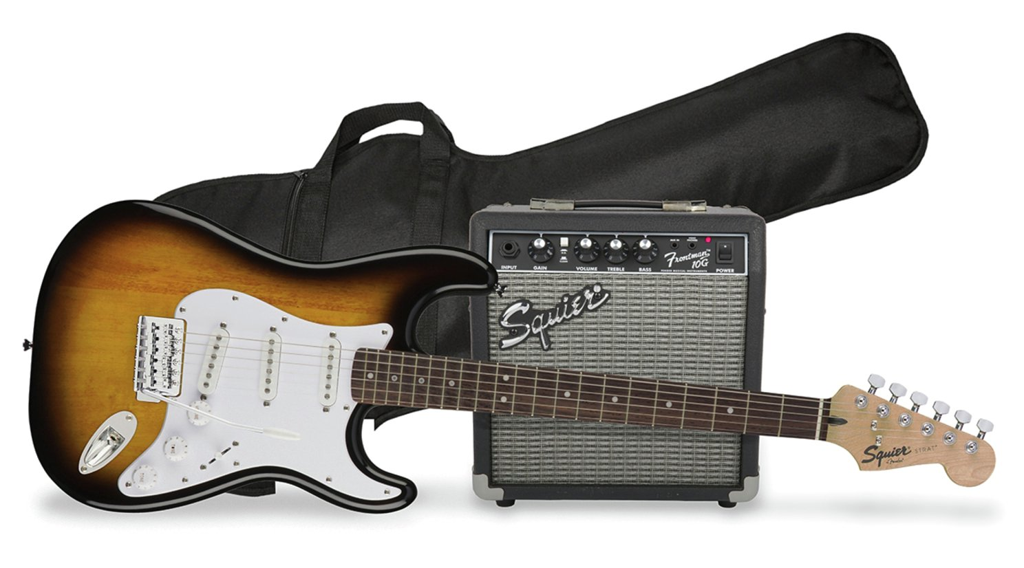 Squier By Fender Full Size Electric Guitar Pack