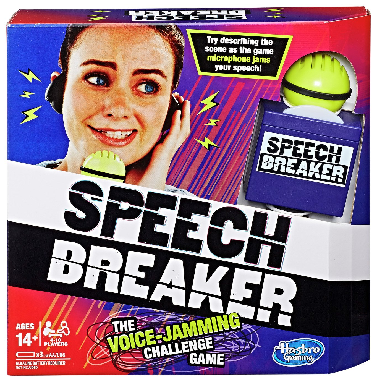 Speech Breaker from Hasbro Gaming review