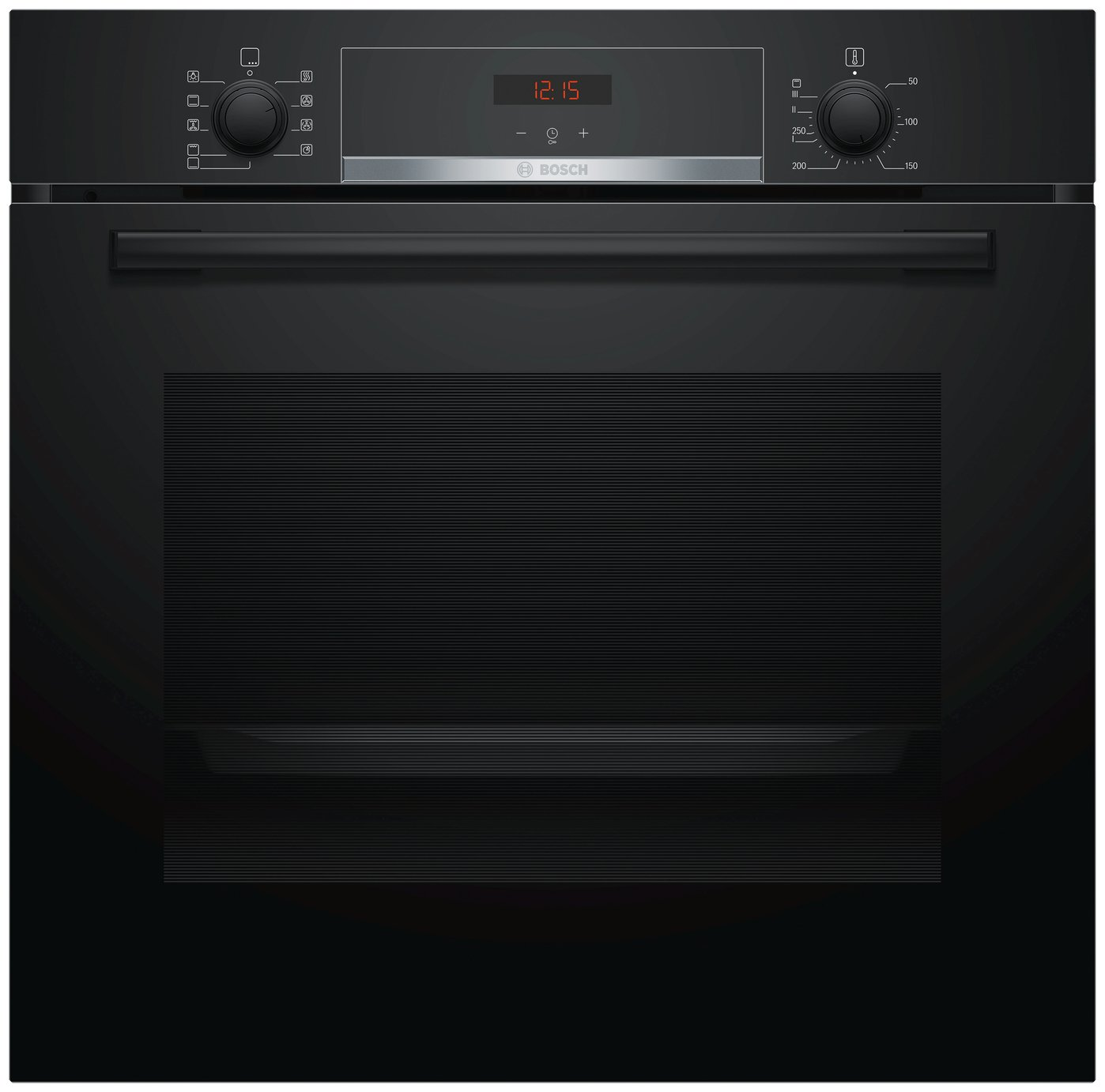Bosch BS534BB0B 59.4cm Built In Single Electric Oven - Black Best Price, Cheapest Prices