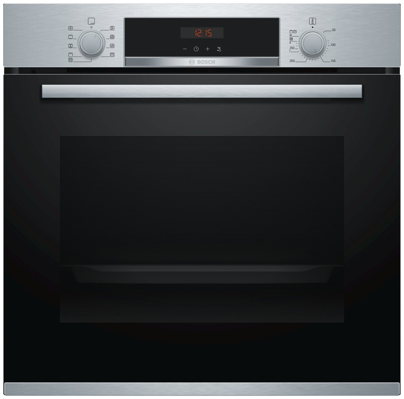 Bosch HBS573BS0B 59.4cm Single Electric Oven - S/ Steel