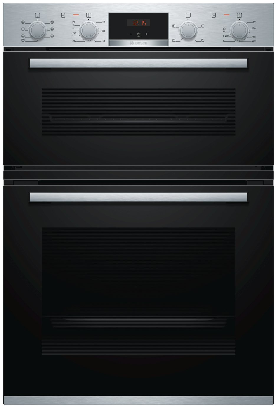 Bosch MBS533BS0B 59.4cm Double Electric Cooker - S/ Steel