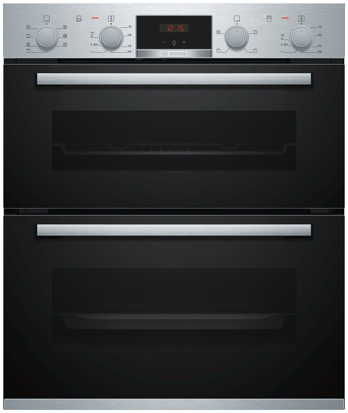 Bosch NBS533BS0B 59.4cm Double Electric Cooker - S/ Steel
