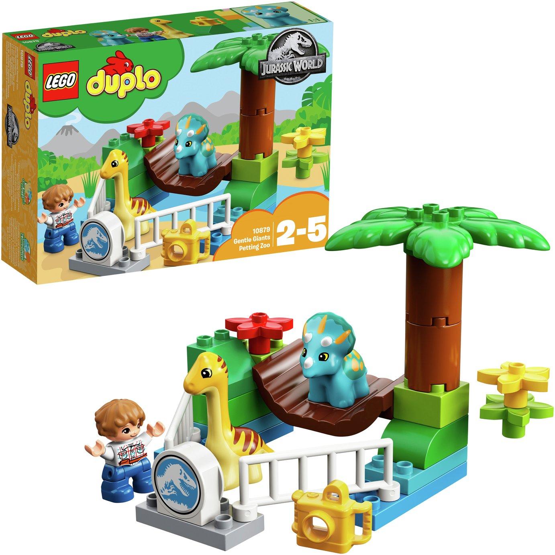 LEGO DUPLO Jurassic World Gentle Giant Dinosaur Zoo - 10879