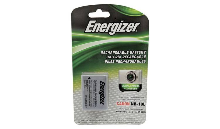 Energizer ENB-CE10 Camera Battery for Canon NB-10L
