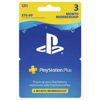 PlayStation Plus: 3 Month Membership (PSN)