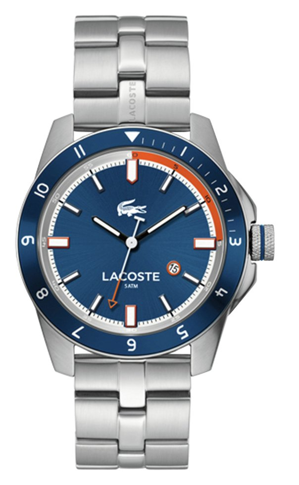 Lacoste Durban Men's Silver Stainless Steel Bracelet Watch
