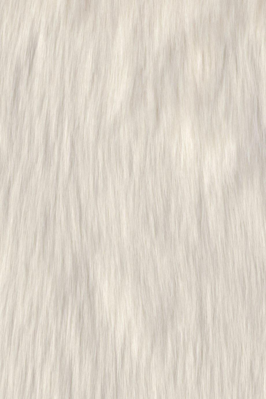 Argos Home Faux Fur Beanbag - Cream