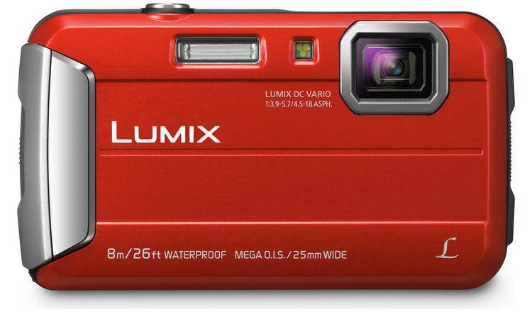 Panasonic Lumix FT30 16MP 4x Zoom Tough Camera - Red