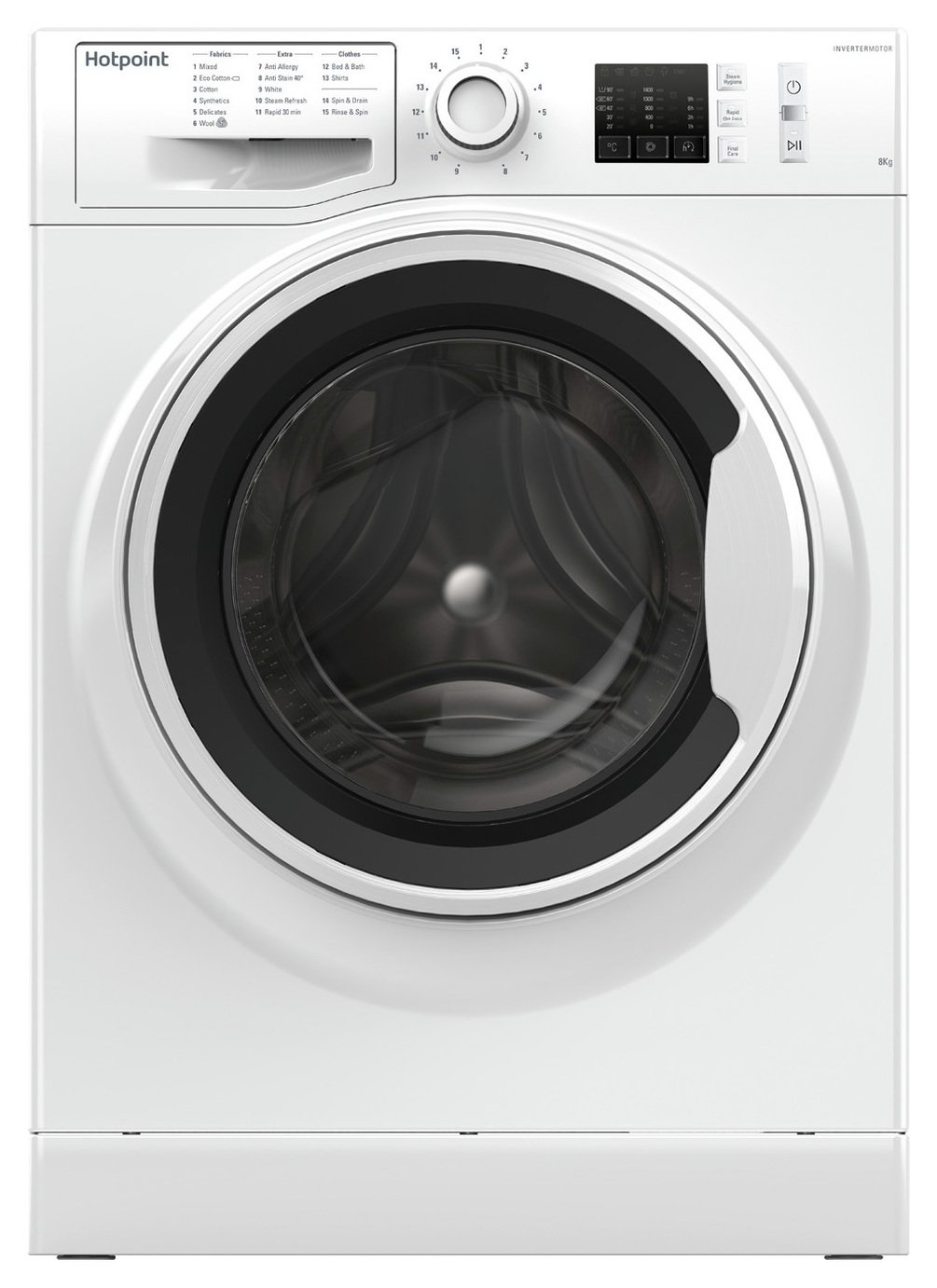 Hotpoint NM10844WW 8KG 1400 Washing Machine - White