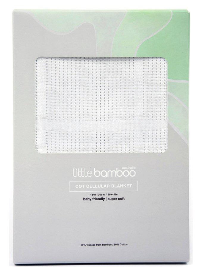 Little Bamboo Airflow Cellular Blanket