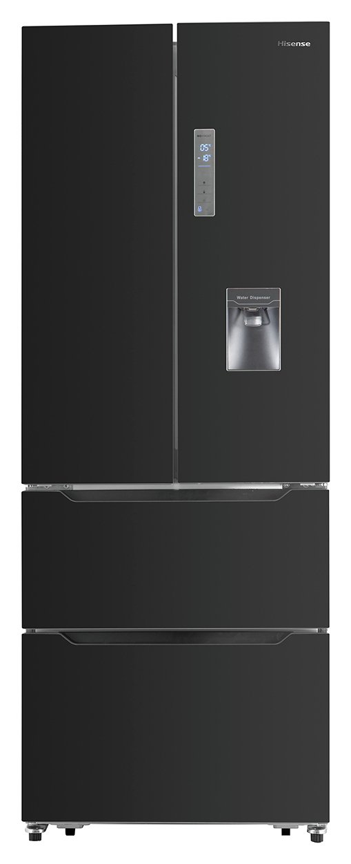 Hisense RF528N4WB1 Fridge Freezer - Black