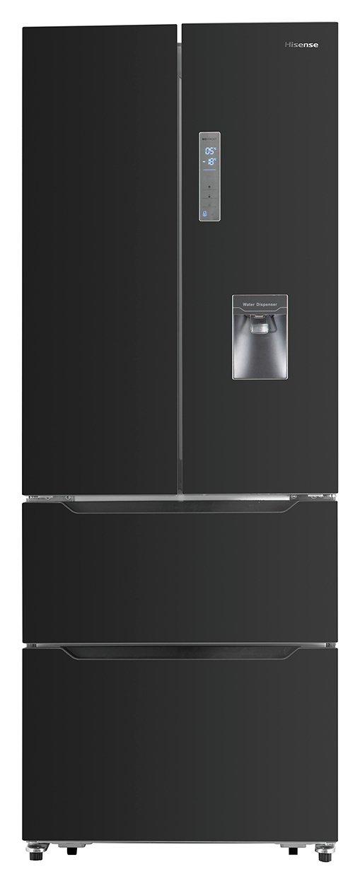 Hisense Rf528 N4 Wb1 Fridge Freezer   Black by Argos