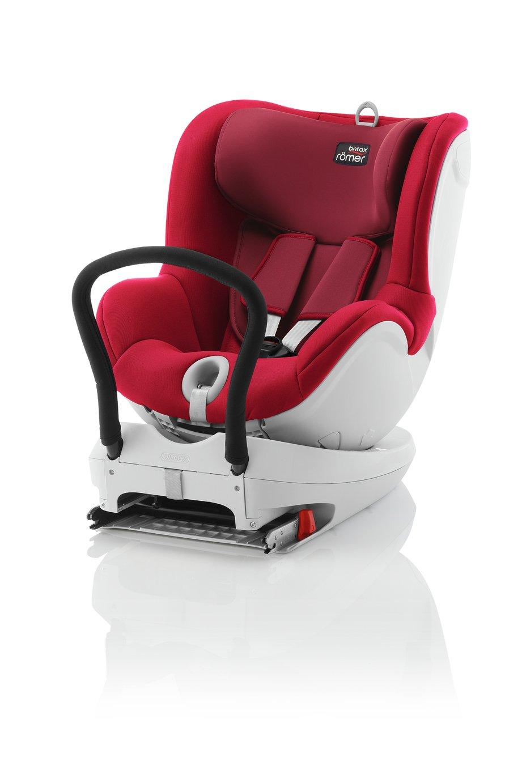 Britax Romer DUALFIX Group 0+/1 Car Seat - Flame Red