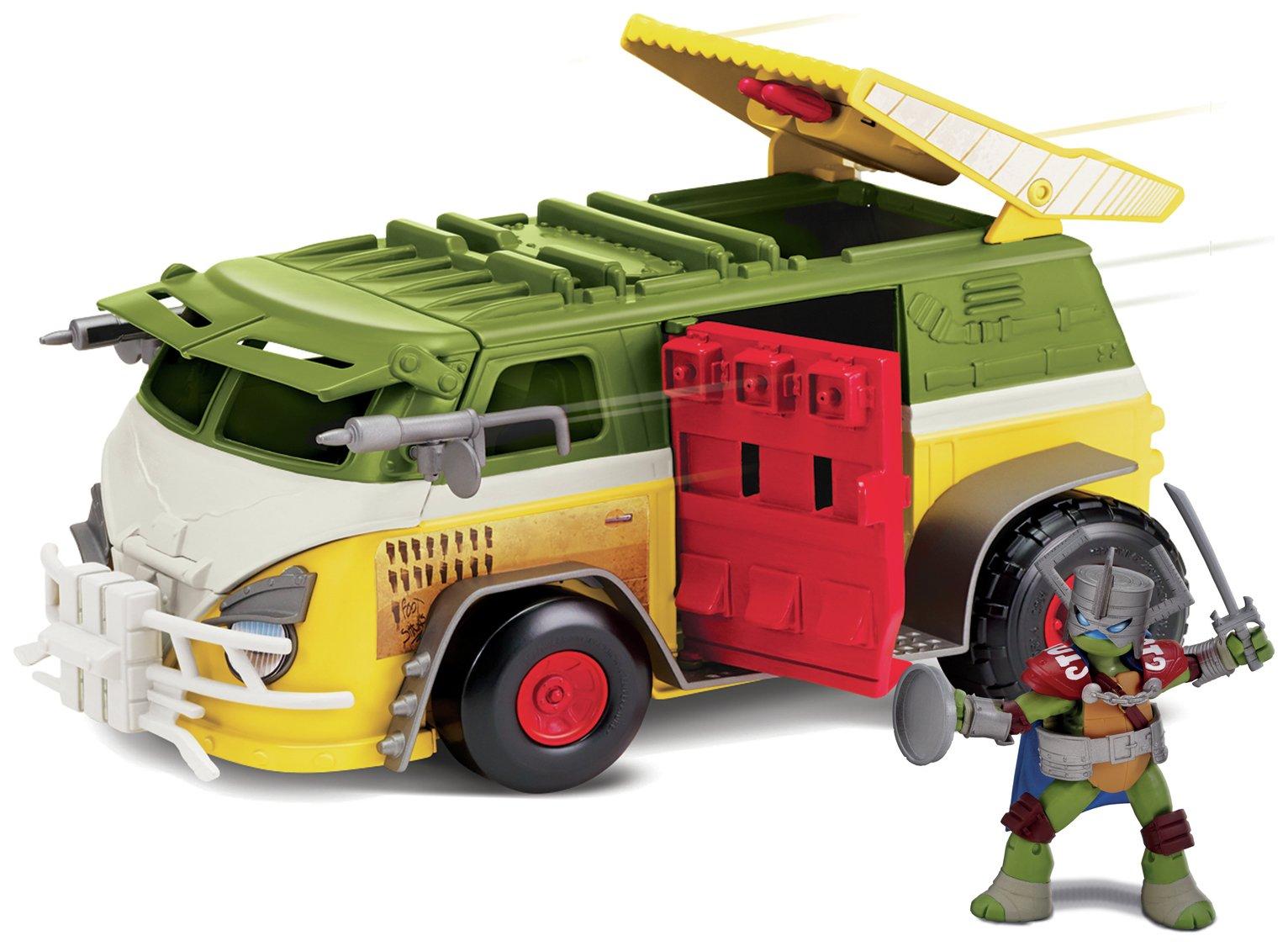 Teenage Mutant Ninja Turtles Party Van with Figure
