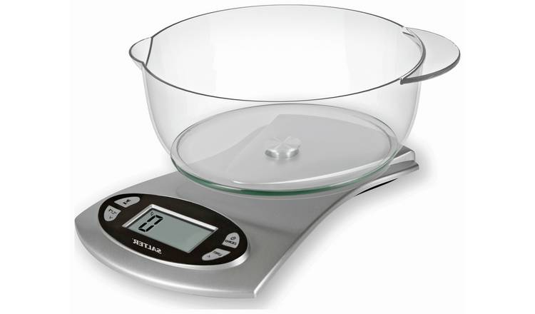 Salter Electronic Bowl Scale - Silver