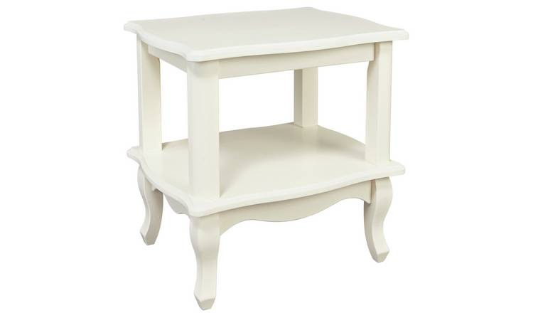 Argos Home Serenity End Table - Off-White
