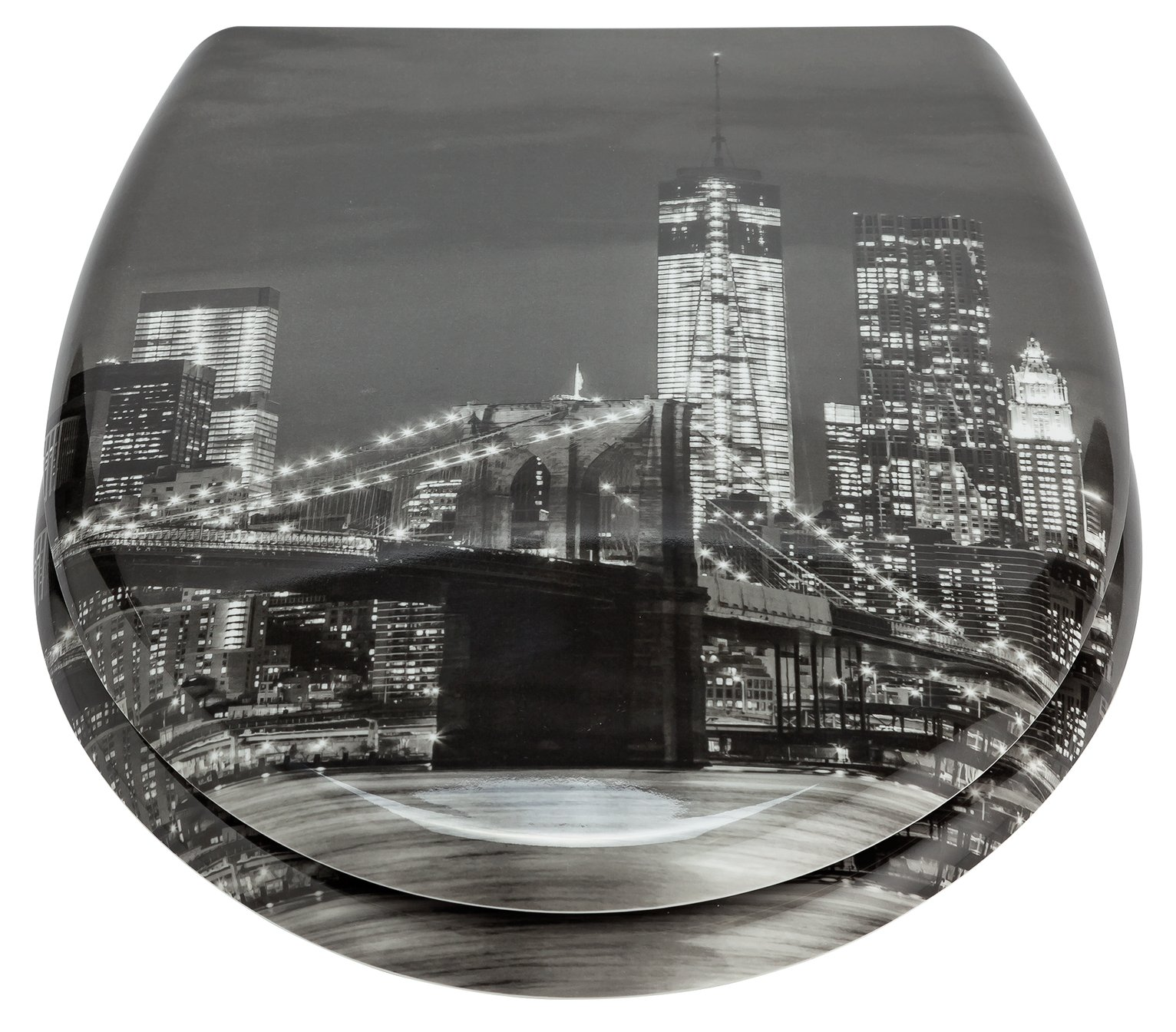 Argos Home New York City Skyline Toilet Seat