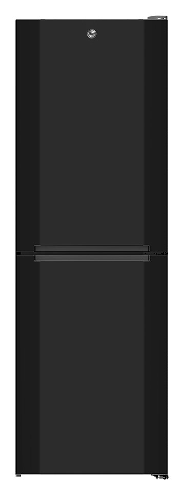 Hoover HMNB6182BK No Frost Fridge Freezer - Black