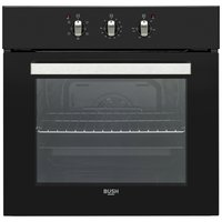 Bush BIBFOB Single Built-in Electric Oven - Black