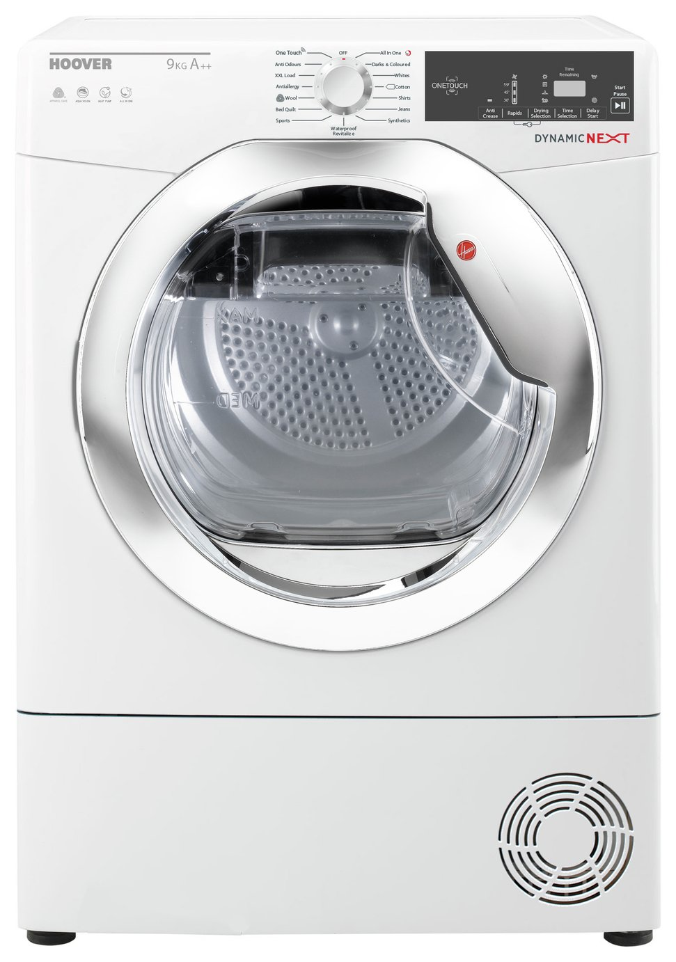Hoover DXH9A2TCE 9KG Heat Pump Tumble Dryer - White