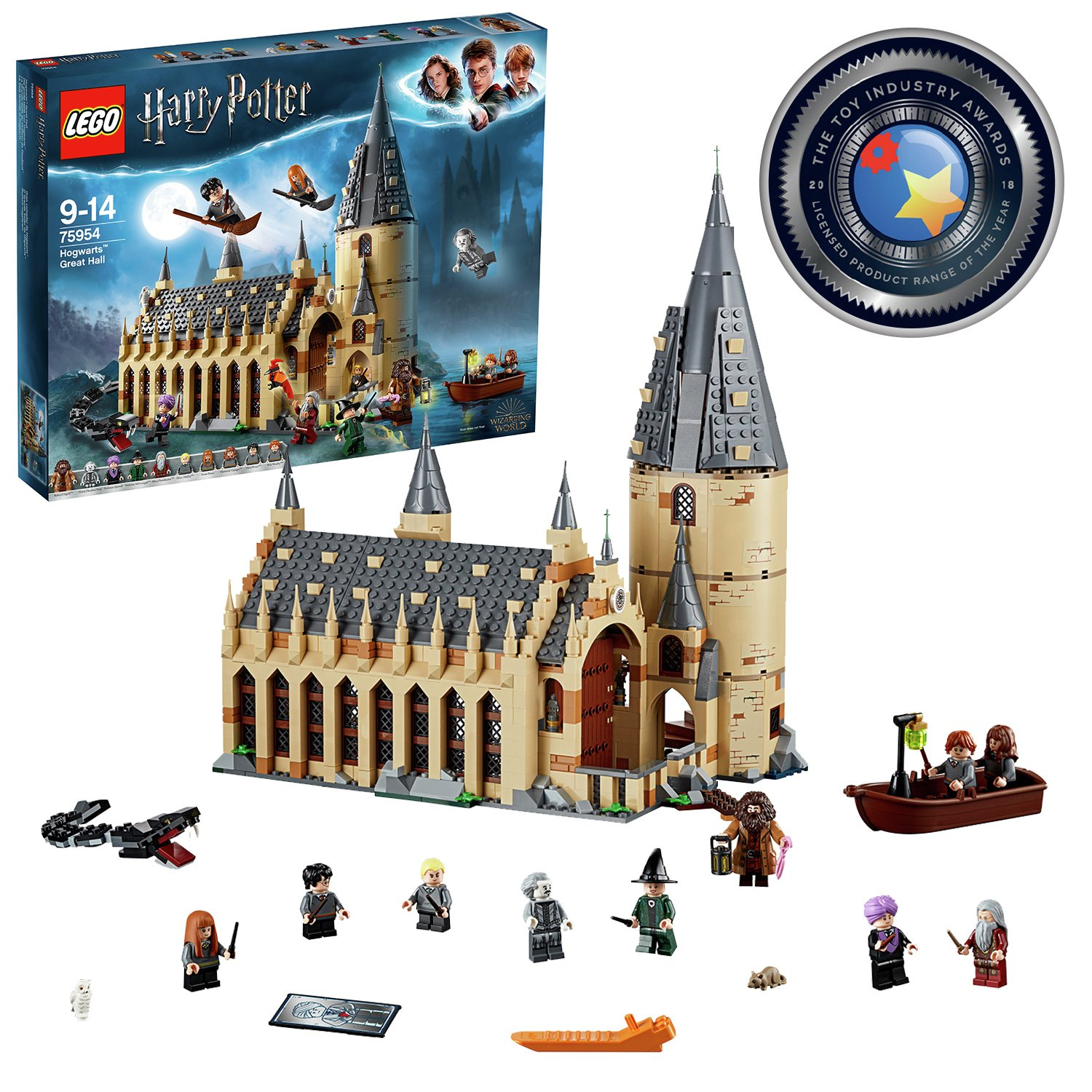 LEGO Harry Potter Hogwarts Great Hall Toy - 75954