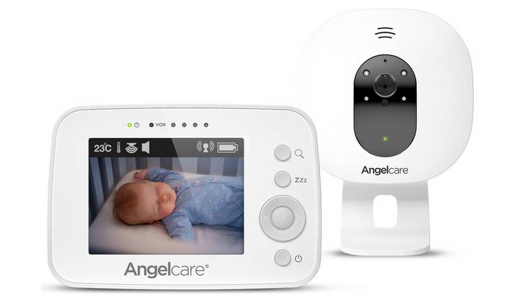 Motorola MBP 33S Digital Video baby monitor with 2.8 inch colour display