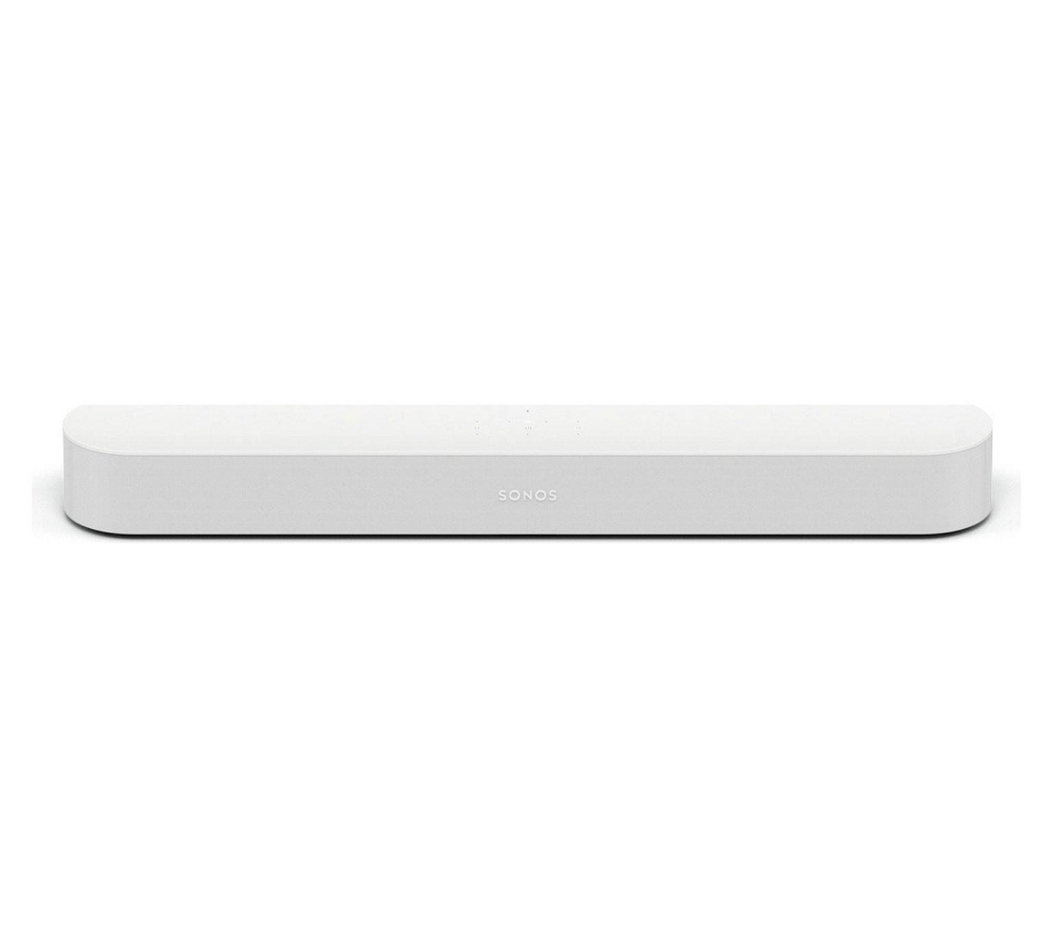 Sonos Beam Compact Smart Sound Bar - White