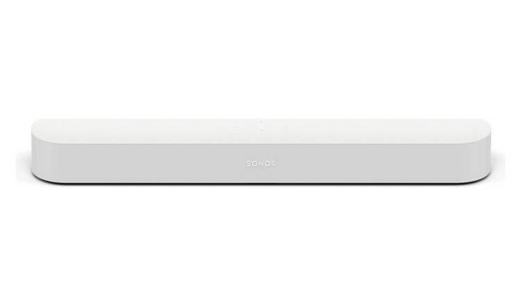 Buy Sonos Beam Compact Smart Sound Bar - White   Sound bars   Argos