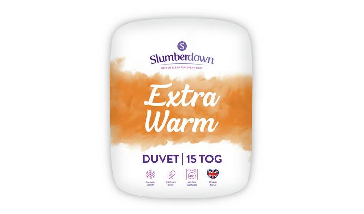 Slumberdown Extra Warm 15 Tog Duvet - Single