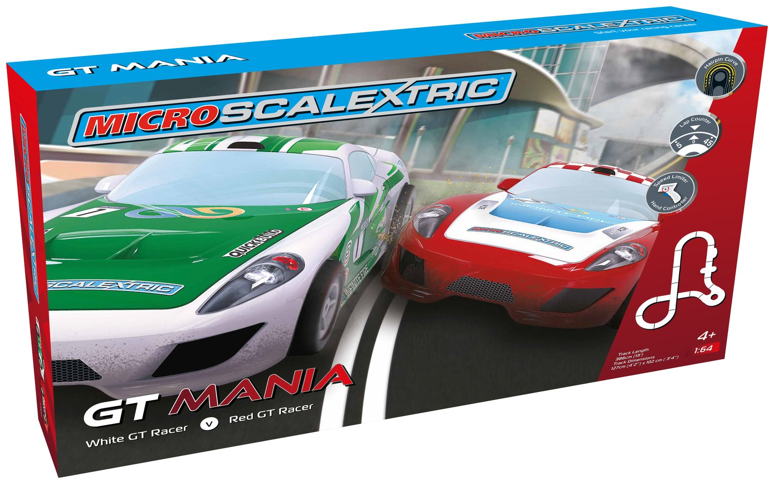 Scalextric GT Mania Playset