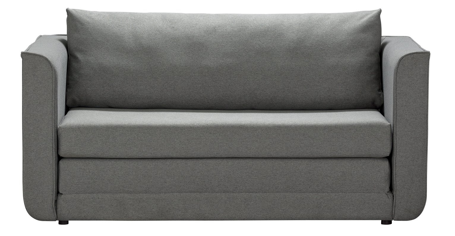 Argos Home Ada 2 Seater Fabric Sofa Bed - Grey