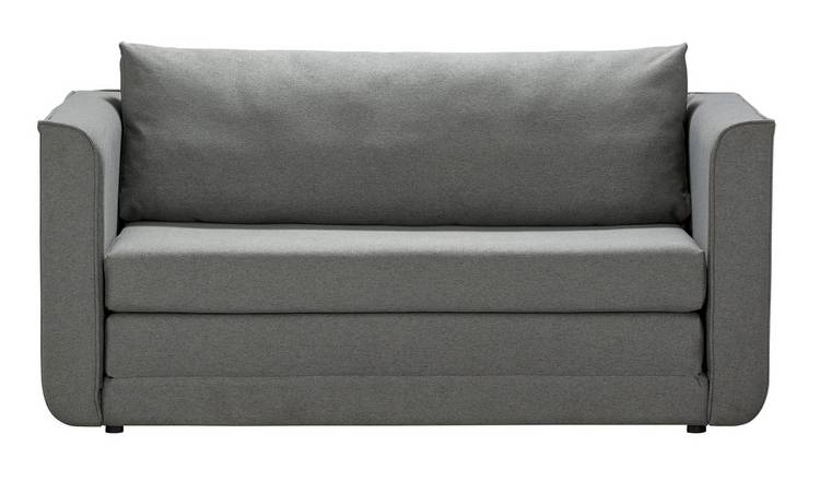 Buy Argos Home Ada 2 Seater Fabric Sofa Bed - Grey | Sofa beds | Argos