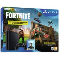 Sony PS4 500GB with Fortnite Royal Bomber Pack Bundle