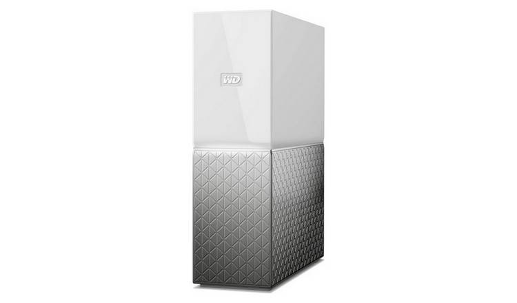Buy WD My Cloud Home 4TB Portable Hard Drive | External hard drives | Argos